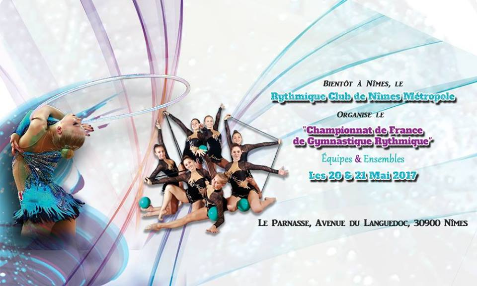 Convocation Championnat de France Ensembles Nationaux à Nîmes Samedi 20 et Dimanche 21 Mai