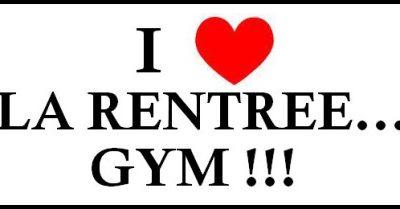 C'est la rentrée gymnique !