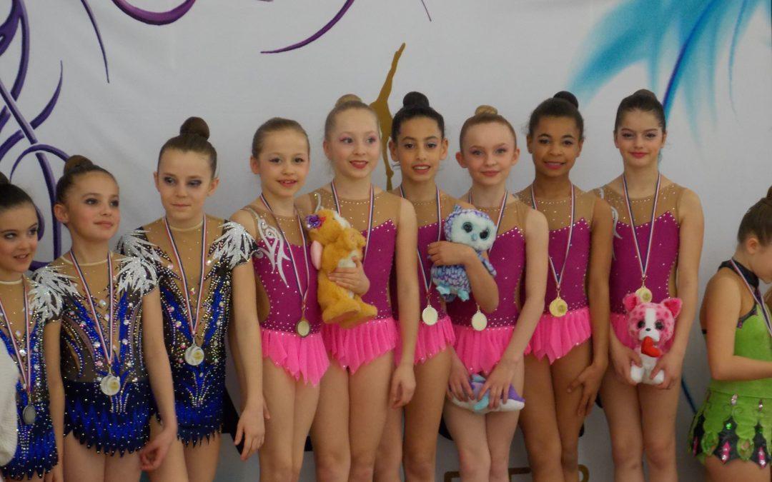 Prévisionnel compétition Lyon pour les catégories Nationales , Performance 7/8/9 ans et Régionales A : 21 et 22 Avril 2018