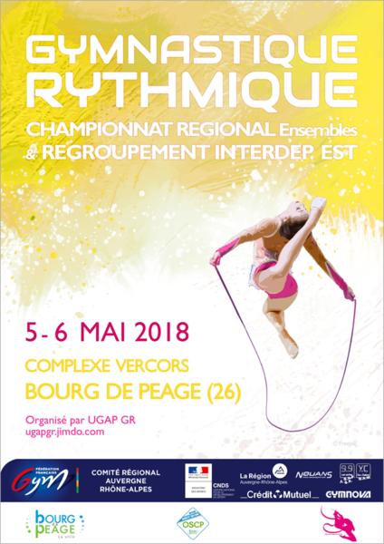 Convocation Bourg de Péage CF3 CF4  Samedi 5 Mai  + Championnat régional ensembles Fédéraux A B et C Dimanche 6 Mai