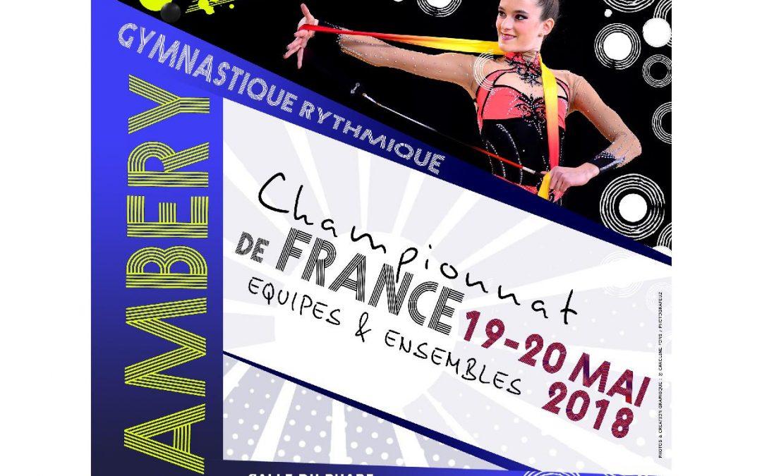 CONVOCATION CHAMPIONNAT DE FRANCE NATIONALE ENSEMBLE CHAMBÉRY  19 ET 20 MAI 2018