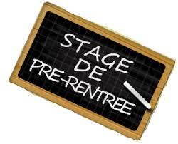 Compétitions individuelles stage de Pré-rentrée