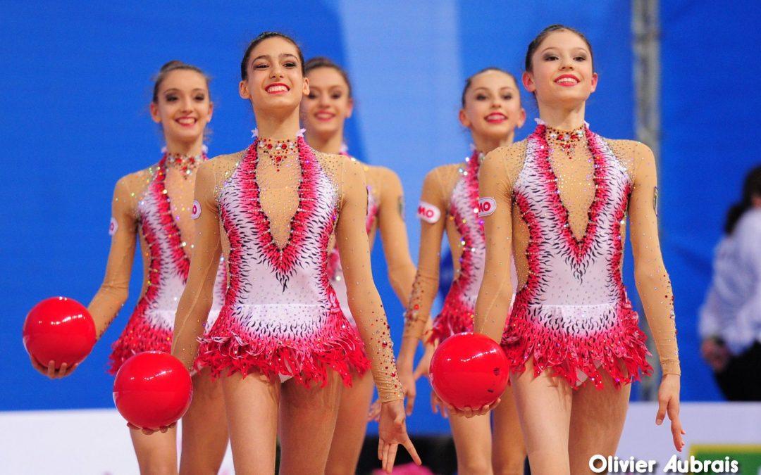 Pré -compétition ensembles Mercredi 6 Février Palais des Sports