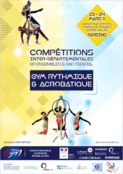 Convocation Compétition Interdépartementale à Fareins les 23 et 24 Mars