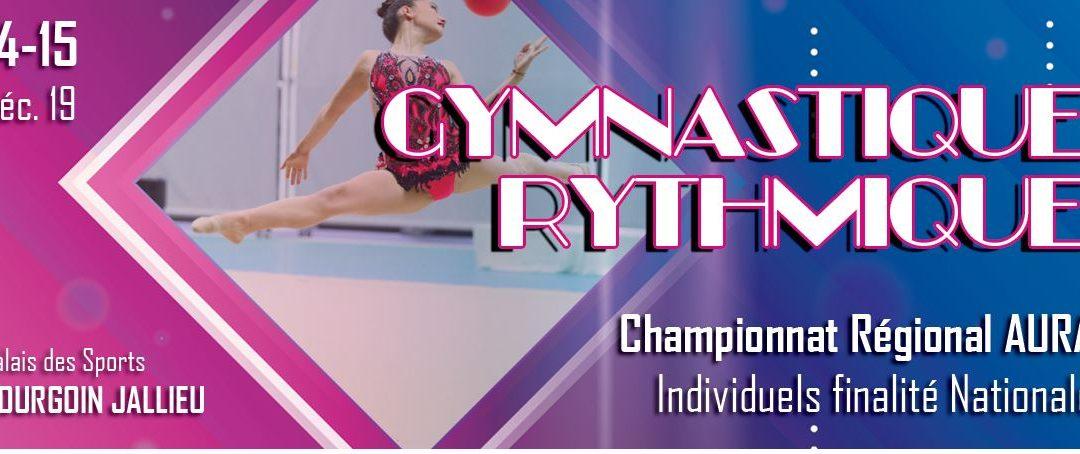 CHAMPIONNAT RÉGIONAL A BOURGOIN JALLIEU  14 et 15 Décembre Palais des Sports
