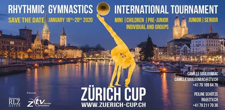 4 Berjalliennes au tournoi International à Zurich ce weekend