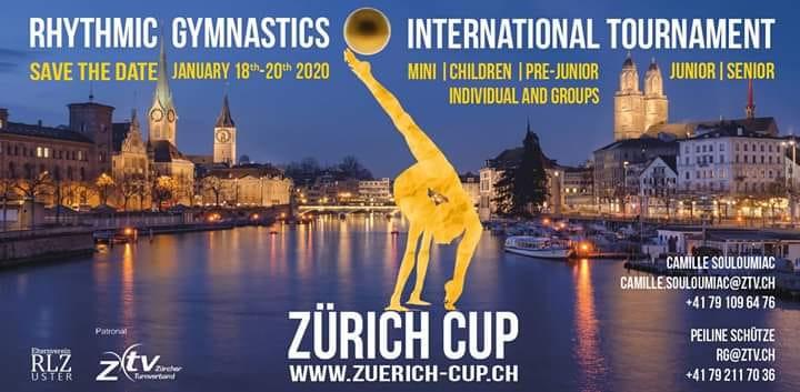 4 Berjalliennes au tournoi International à Zurich ce weekend