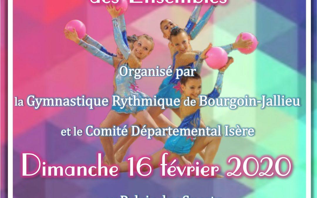 Championnat départemental Isère «Ensembles»  Dimanche 16 Février